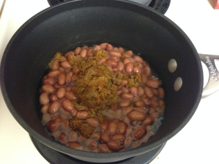 Beans ready to simmer!