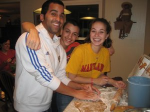 Eric, Abraham, and me circa 2010