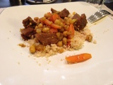 Spicy Carrot & Beef Tagine