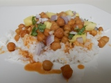 Teriyaki Chickpeas and Rice