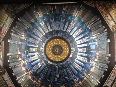 Hadron Collider exhibit