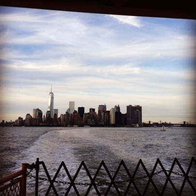Manhattan from the SI Ferry